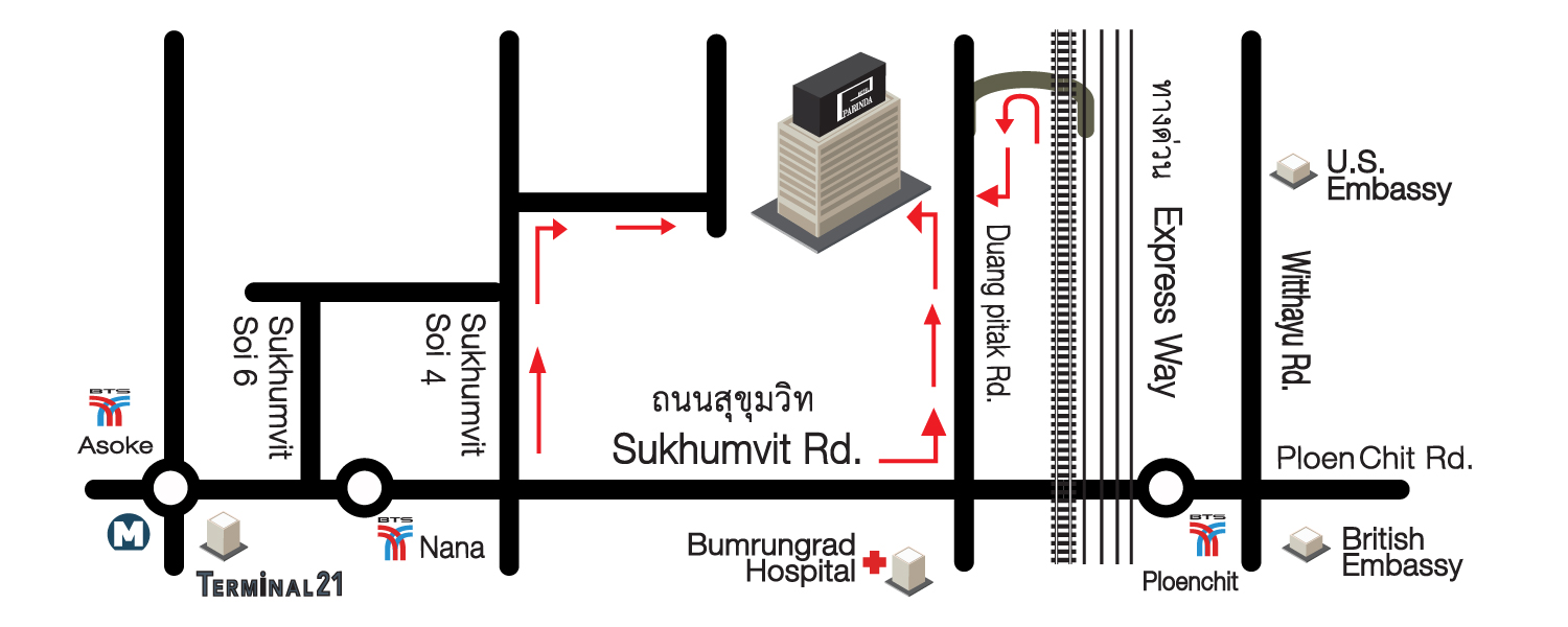 Location & Map | Parinda Hotel - a NEW modern-style boutique